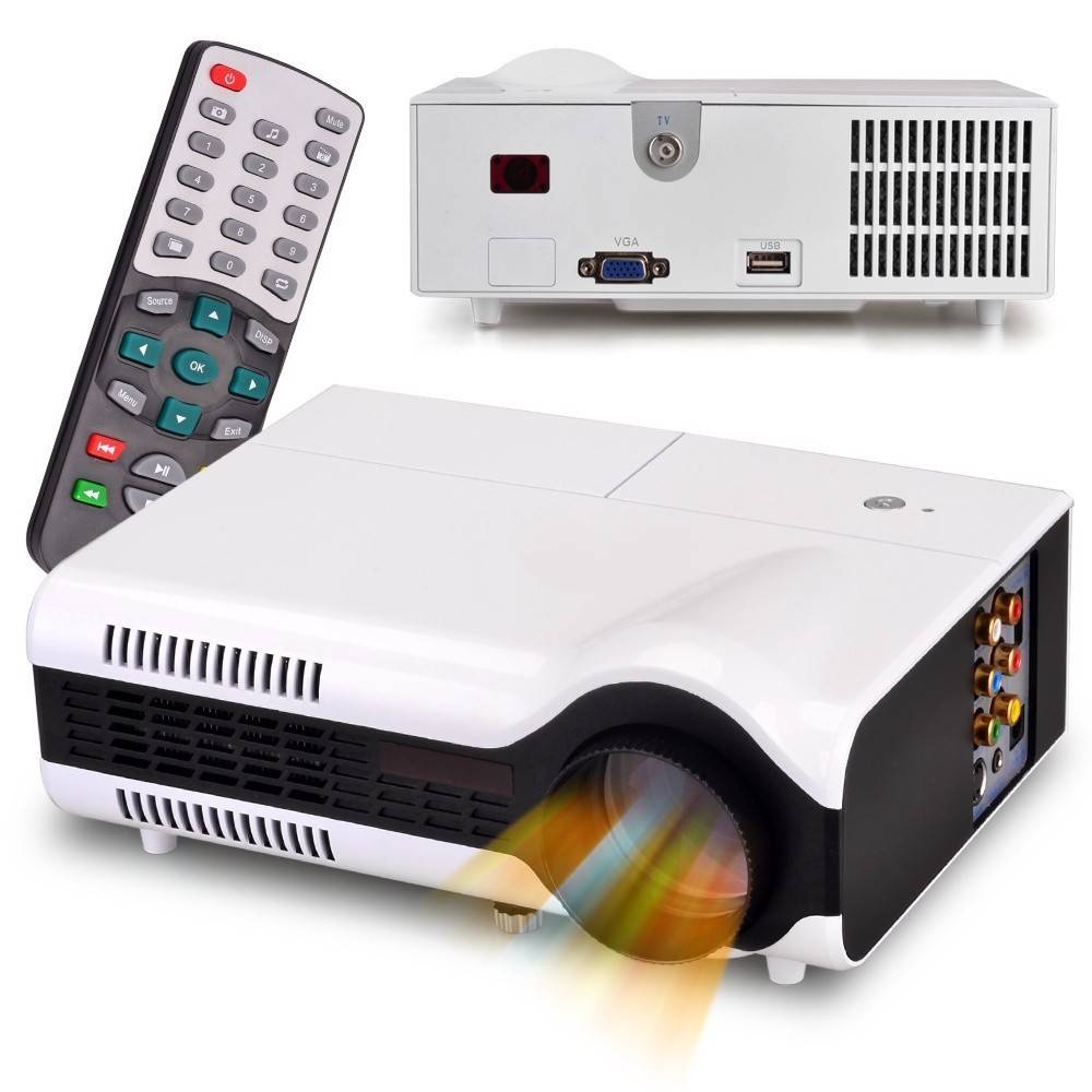 Portable Projector 3D home theater