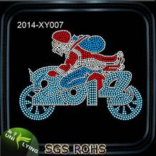 Wholesale Santa Claus Rhinestone Heat Transfer Designs