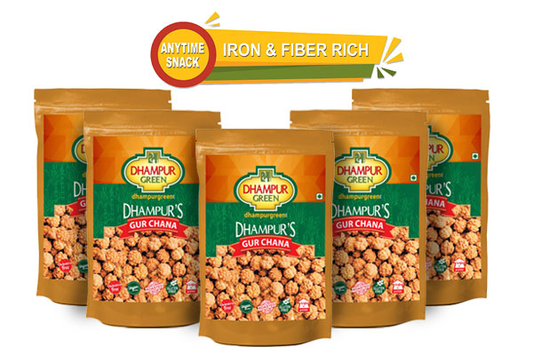 Gur Chana - Pack of 5 - by Dhampur Green
