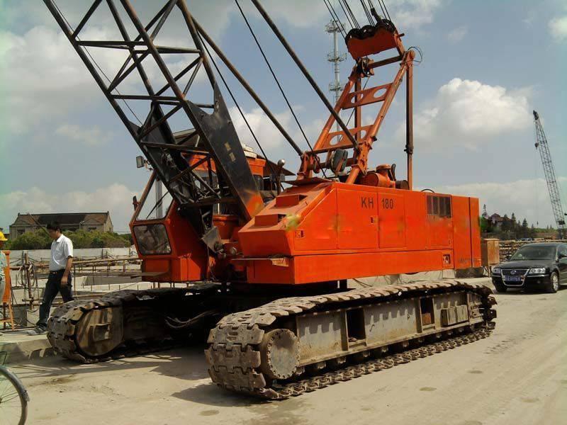 Hitachi Kh180 Cranes Crawler Cranes