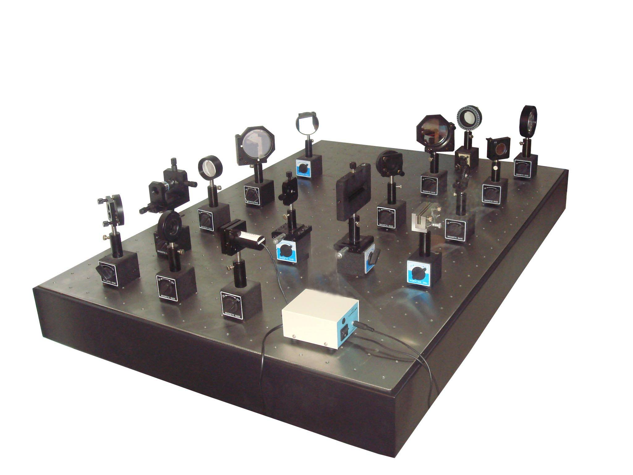 synthesis testing experiment system of photoelectric device indentity
