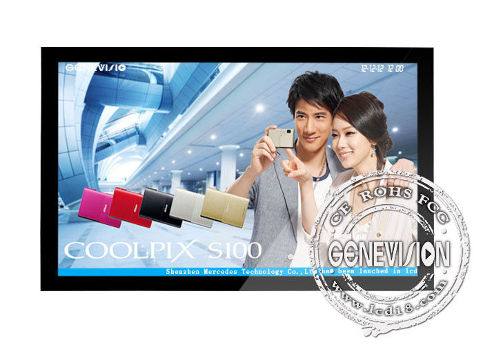 65 inch wall mounted LCD Video Wall Display For Advertising Player