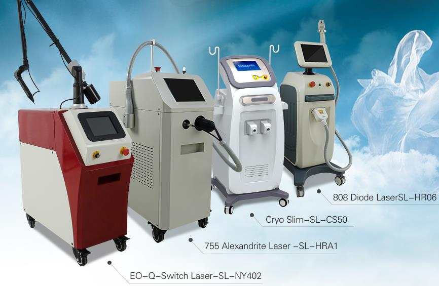 Distributor of our beauty machines
