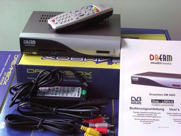 dreambox 500 satellite receiver