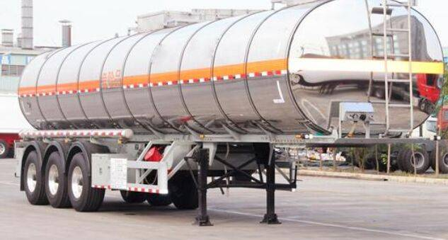 2 Axles 31000 Litres Aluminum Alloy Fuel Transport Tank Trailer