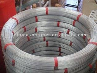 Oval Galvanized Steel Wire for Fencing