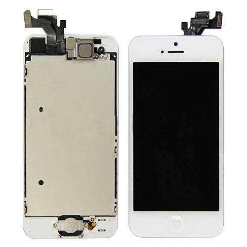 Full Set LCD Screen Display with Touch Screen Digitizer Assembly for iphone 5 5G - White