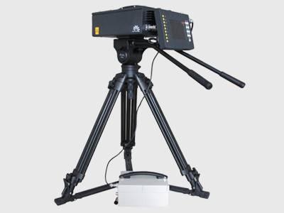 Portable laser camer