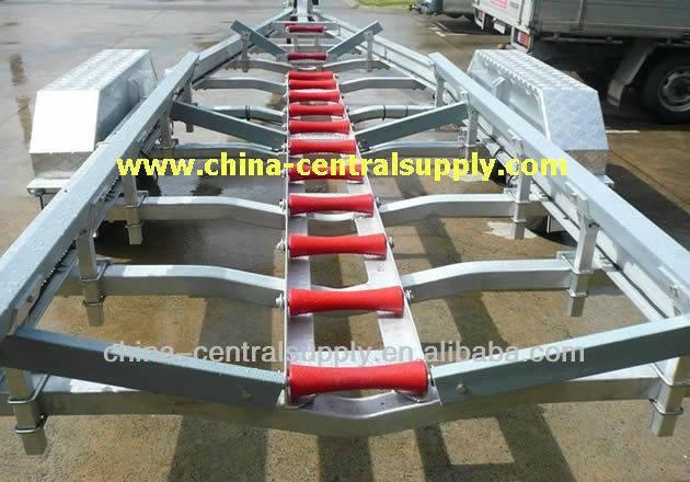 7.6m Aluminum Boat trailer