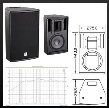 2-way, full range loudspeaker systemCV-802B