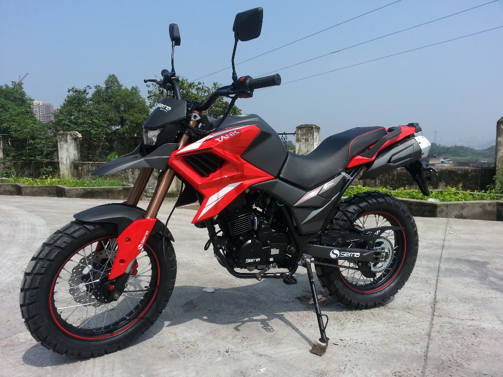 Dual X-cross 250cc motorcycle