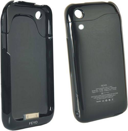 iPhone external rechargeable backup battery for 3G/3Gs