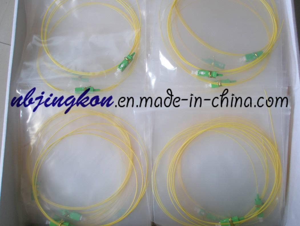 SC/APC Optical Fiber Pigtail-0.9mm,PVC Jacket