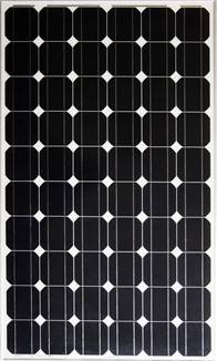 High Performance 60Cell Mono crystalline 125x125mm Solar Photovoltaic Module