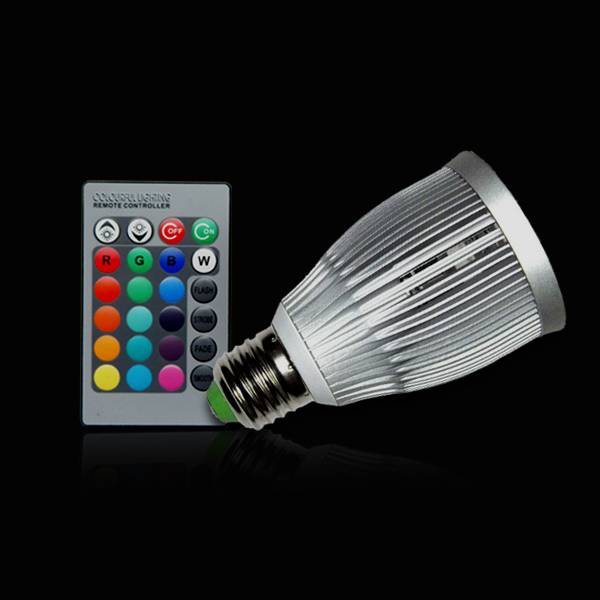 led 7w rgb spotlight/spot light/bulb light