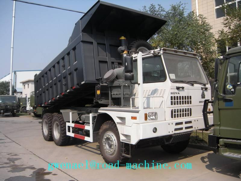 MINING DUMP TRUCK SINOTRUCK HOWO 70TON 6x4 371HP EURO II Energy-Saving