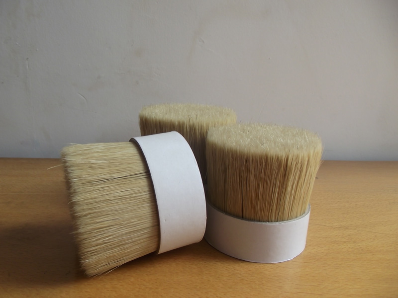 PIG HAIR BRISTLE FOR PAINT BRUSHES