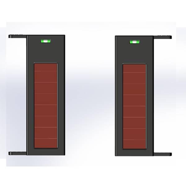 Solar wifi acitve security beams