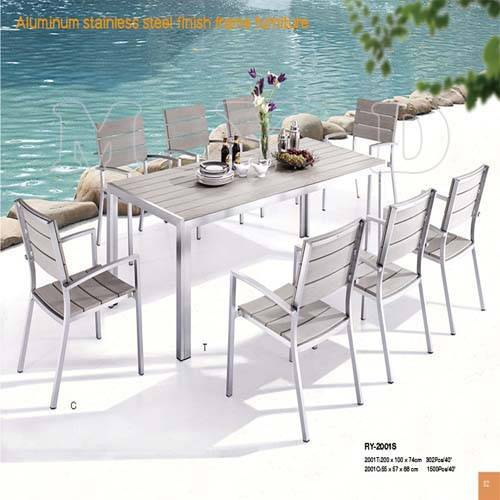 Garden Furniture Sets /K.D Table /Stacking Chair