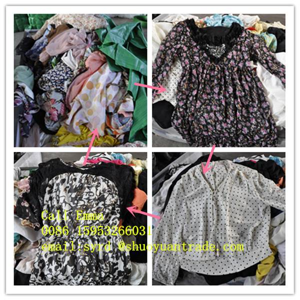 fashion stock clothes unsorted used clothes
