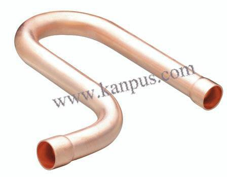 Copper Suction P-Trap for refrigeration and air condition (ACR copper fitting, HVAC/R spare parts)