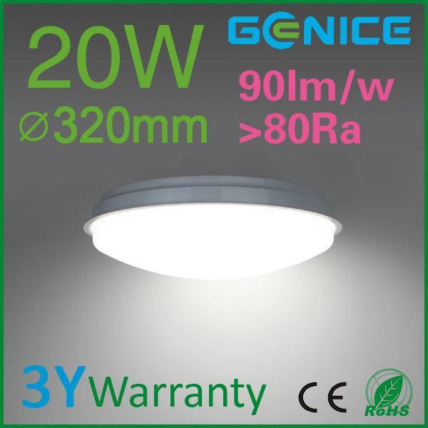 32cm 14W 20W 230v led ceiling lamps