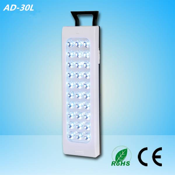 30 pcs led rechargeable emergency light