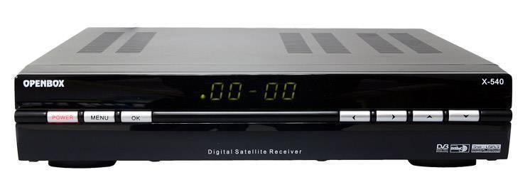 openbox x-540 STB set top box digital satellite receiver