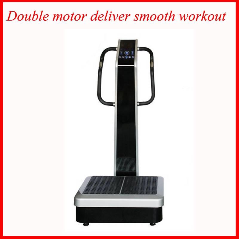 Doulbe motors vibration plate machine