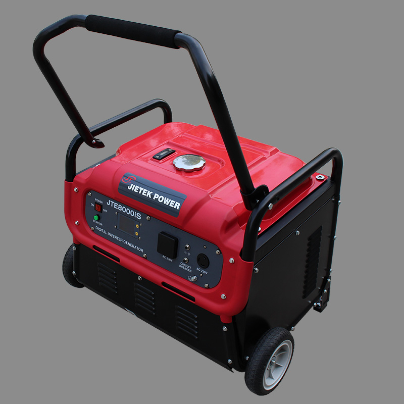 1kw-8kw electrical generator with wheels and handles