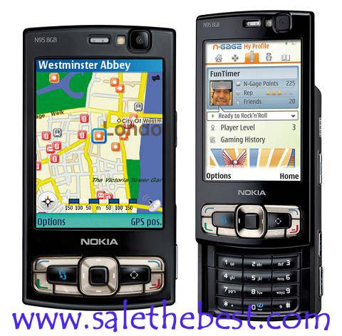 cell phone Nokia N95 8gb ( original  Nokia mobile phones wholesale)