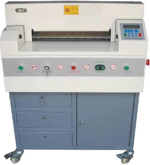 Electric Power Cutting Paper Machine