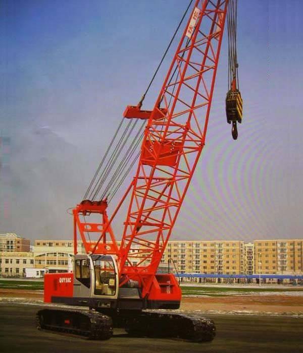 Used Hitachi Kh180-3 Crawler Crane