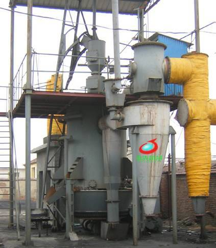 Two-stage Coal Gasifier/Coal Gasifier