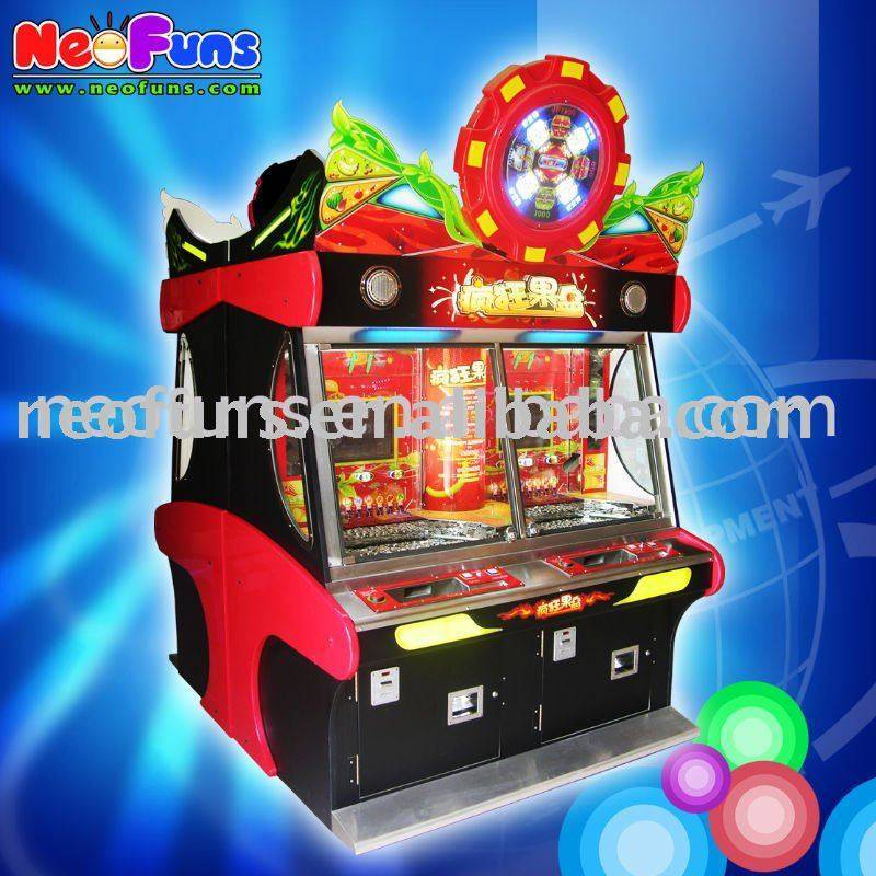 Crazy Fruit coin pusher machine