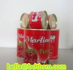 Sell brix:28-30% tomato paste 400g24tins/carton