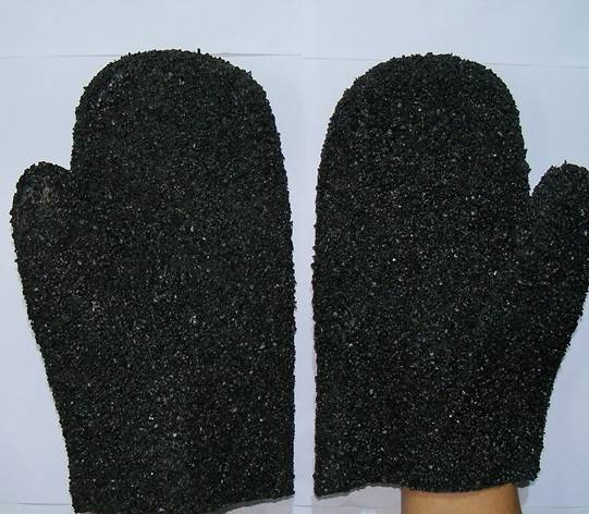 Sell PVC coated/dipped work Mitten/glove,with PVC dots