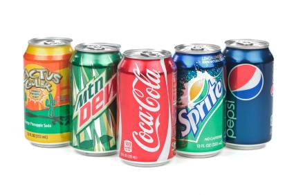 Soft Drinks Mirinda, Sprite, Coke, Fanta, Lipton Ice Tea, Pepsi, Cola 330ml Can