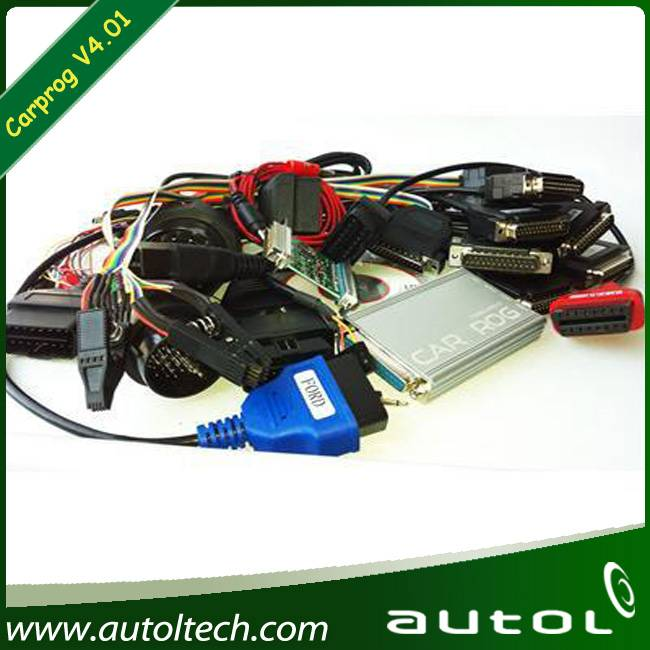 Carprog Full with All Softwares Activated and All 21 Adapters 4.01