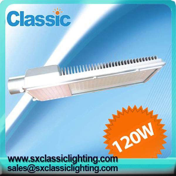 120W 10800lm LED street light
