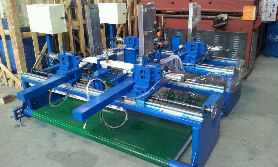 automatic nailing machine for shutter blinds slat