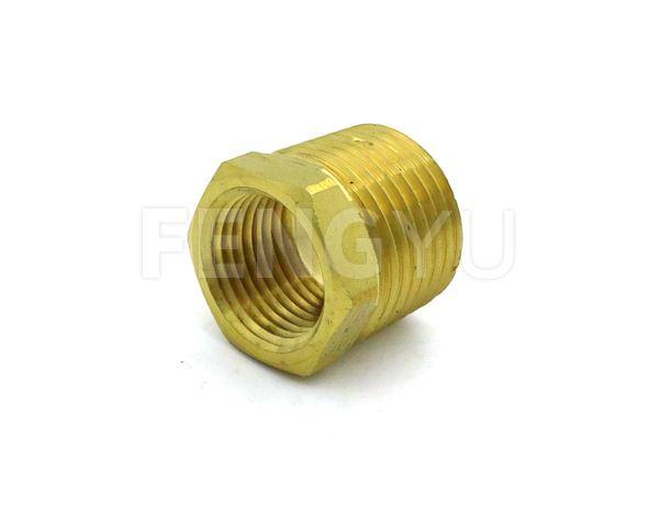 Male x female thread brass coupler