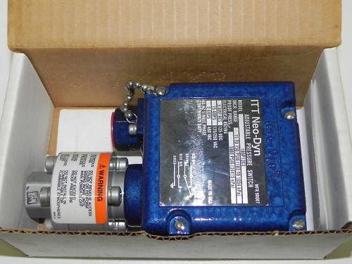 ITT PRESSURE SWITCH 100P12C3