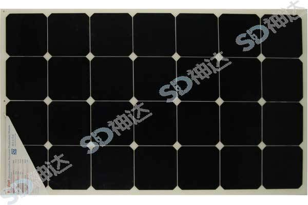 80W flexible solar panel for boat or car use