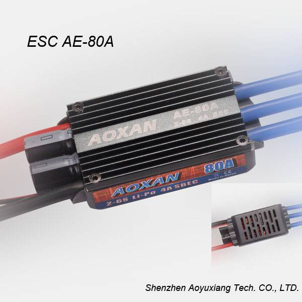 2016 Newest 80A ESC Electronic Speed Controller with BEC for Brushless motor