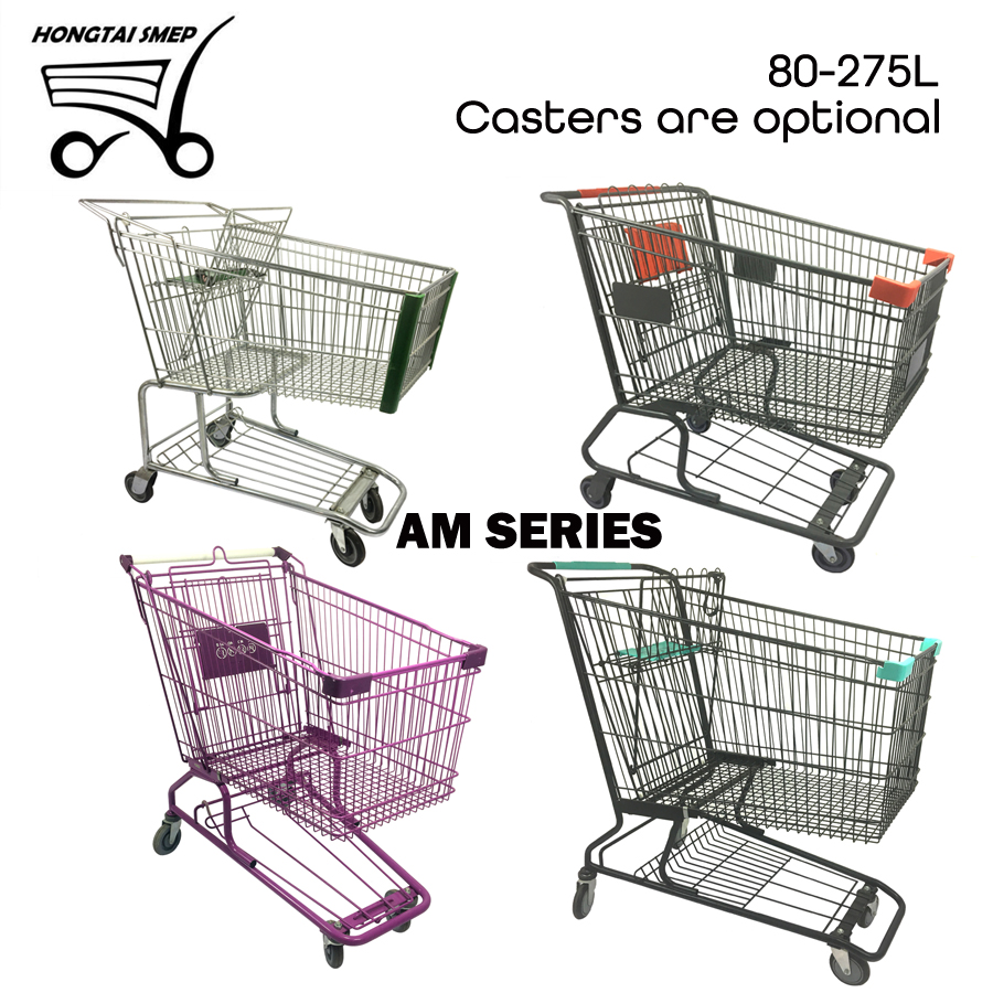 American Style Supermarket Shopping Trolley