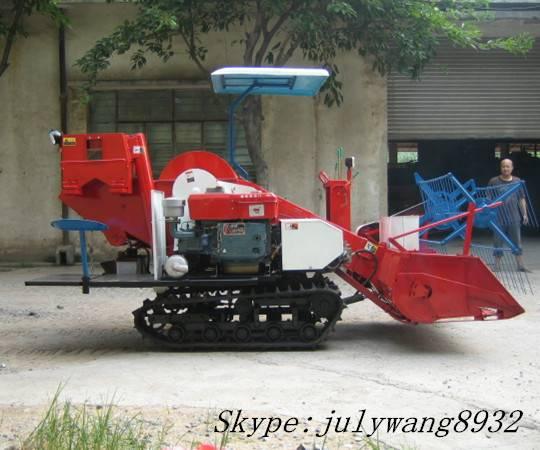 Mini rice combine harvester 4LZ-1.0