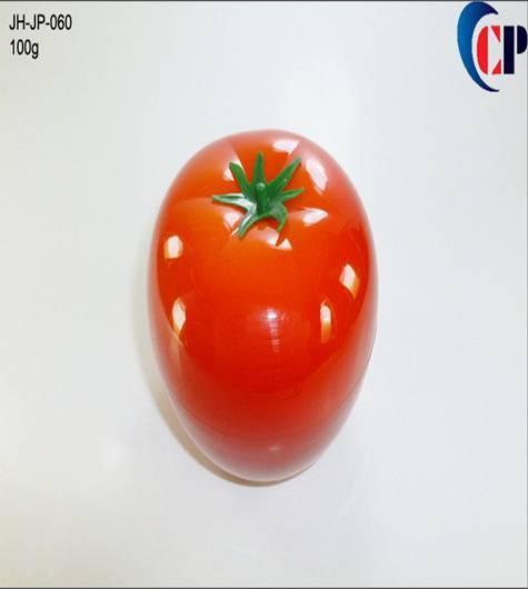 100g Tomato Fruit Jar,sample cream jar sales, fruit cream jars
