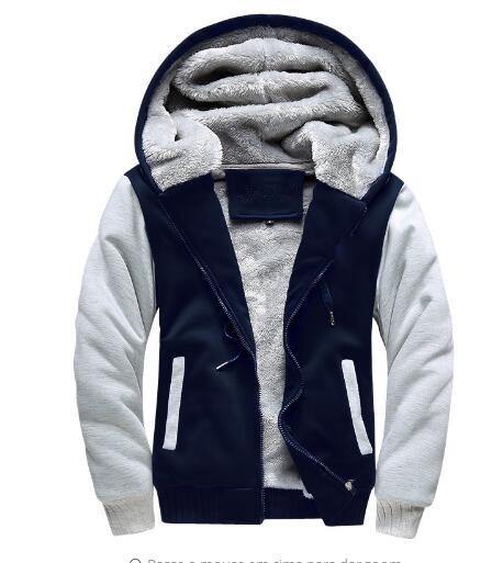 New Winter Jackets and Coats Fate zero hoodie Anime Luminous Hooded Thick Zipper Men Sweatshirts USA