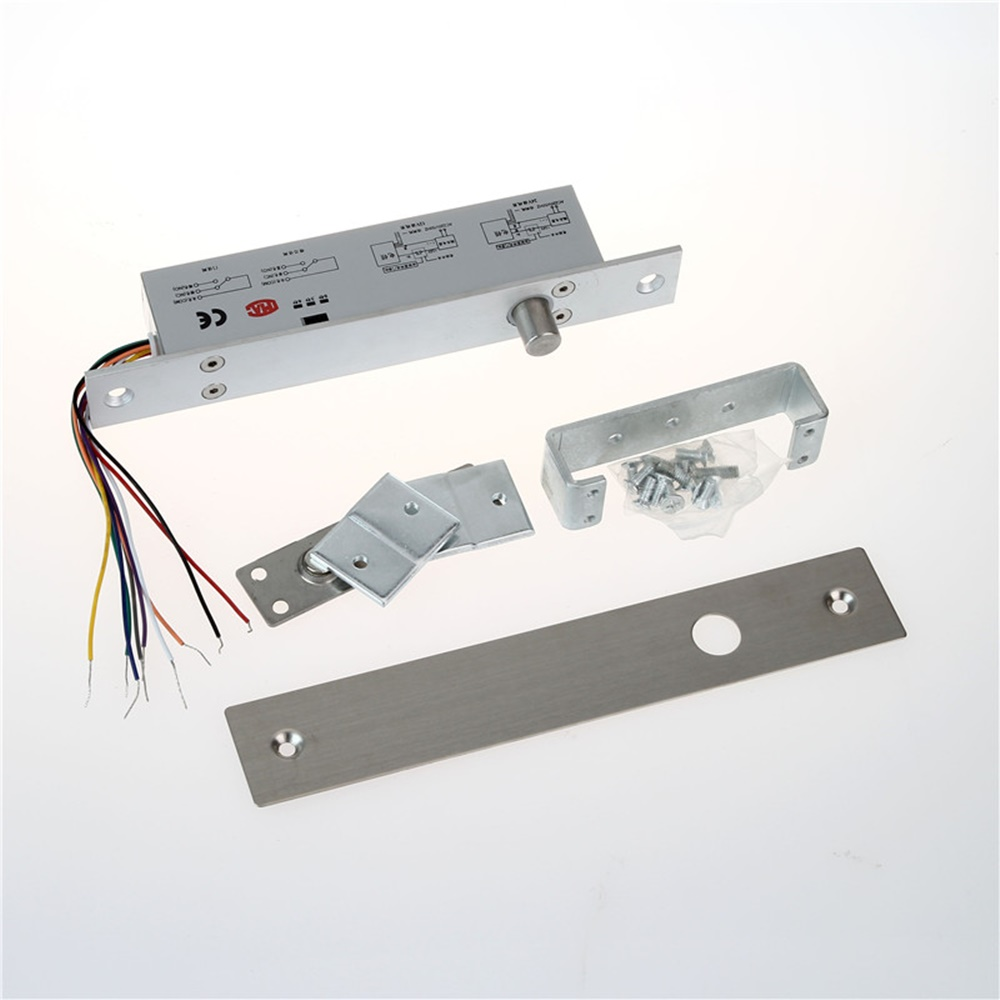 New Narrow Panel Electric Bolt Lock For Glass Door